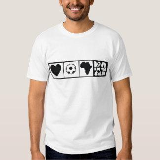 África para África por Kihiko - corazón en el Camisas