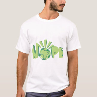 África para África por Kihiko - esperanza Camiseta