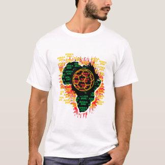 África para África por Zetuzakale - bola Camiseta