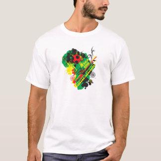 África para África por Zetuzakale - collage Camiseta