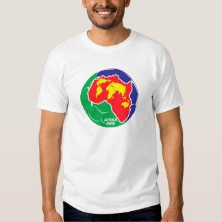 África para África por Zetuzakale - globo Camiseta