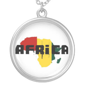 africa rasta cadena colgante redondo