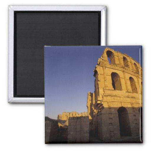 África, Túnez, EL Jem. Ruinas de un romano Imán