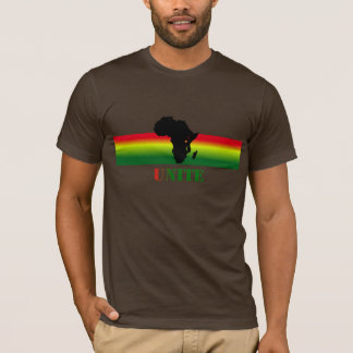 ÁFRICA une la camiseta de encargo