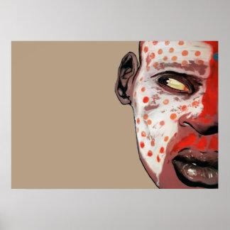 african make up póster