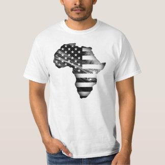 Afroamericano orgulloso camiseta
