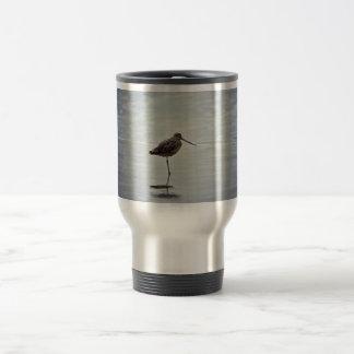 Agachadiza veteada tazas de café