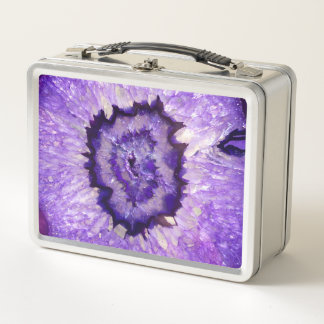 Ágata púrpura Geode de Falln