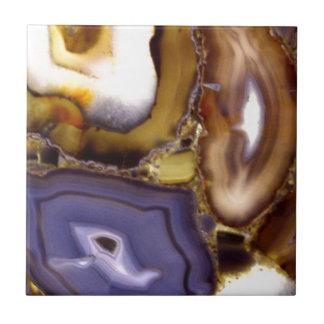 Ágatas abstractas azulejo de cerámica