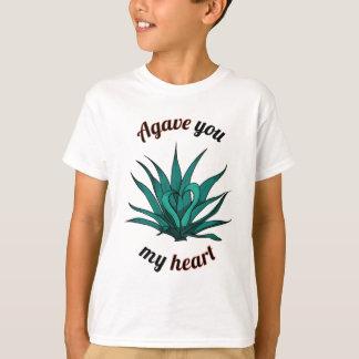 agavo usted mi corazón camiseta