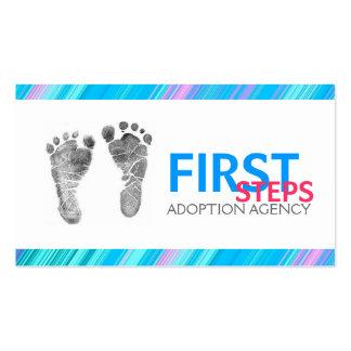 Agencia de adopción, tarjeta de visita del agente
