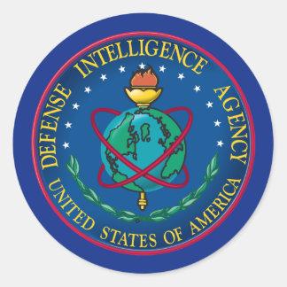 Agencia de Inteligencia para la Defensa Pegatina Redonda