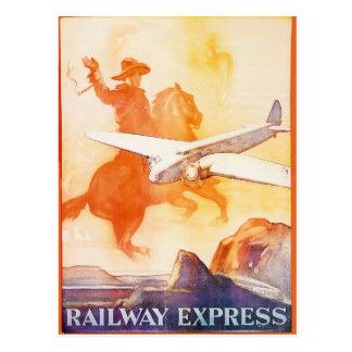 Agencia expresa 1935 del ferrocarril postales