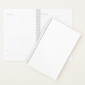 """Agenda 5,5"""" x 8,5"""" espiral semanal/mensualmente"""