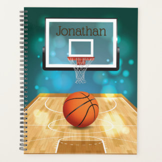 Agenda Diseño del baloncesto semanal/mensualmente