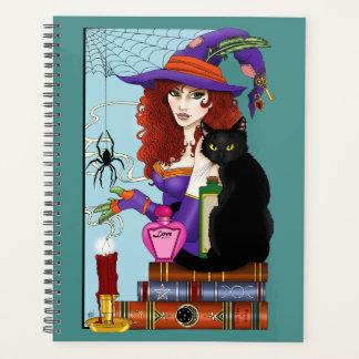 Agenda Gato, libro y vela