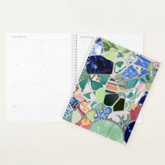 Agenda Mosaicos de Guell del parque
