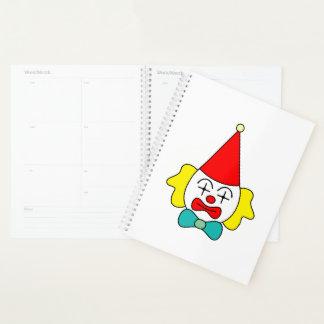 Agenda Payaso - cara divertida