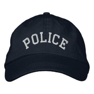 Agente de la autoridad LEO del poli del oficial de Gorra Bordada