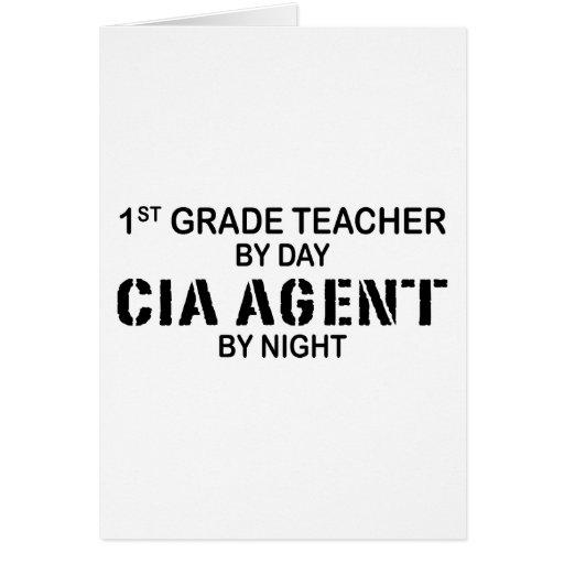 AGENTE DE LA CIA POR LA NOCHE - 1r GRADO Felicitacion