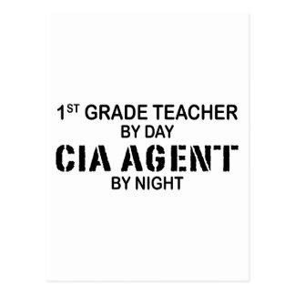 AGENTE DE LA CIA POR LA NOCHE - 1r GRADO Tarjeta Postal