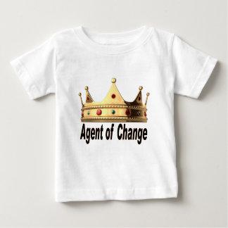 Agente del cambio camiseta de bebé