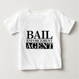Agente fugitivo de la recuperación camiseta de bebé