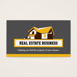 Agente inmobiliario del agente inmobiliario - tarjeta de negocios