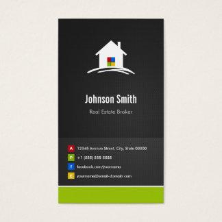Agente inmobiliario - innovador creativo superior tarjeta de negocios
