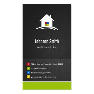 Agente inmobiliario - innovador creativo superior tarjeta de visita
