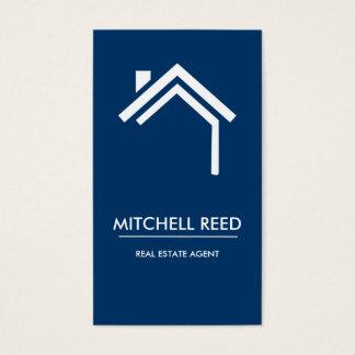 Agente inmobiliario moderno de no. el 43% el pipe% tarjeta de negocios