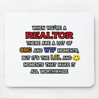 Agente inmobiliario… OMG WTF LOL Tapete De Ratón