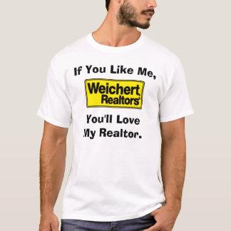 Agentes inmobiliarios de Weichert - esposa Camiseta