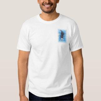 Agilidad del border collie camiseta