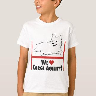 Agilidad del Corgi Camiseta