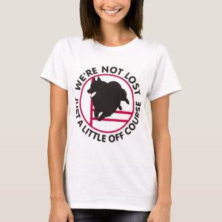 Agilidad del Schipperke del curso Camiseta