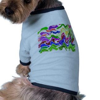Agite la PLANTILLA sensual artística fácil añaden Camiseta Con Mangas Para Perro