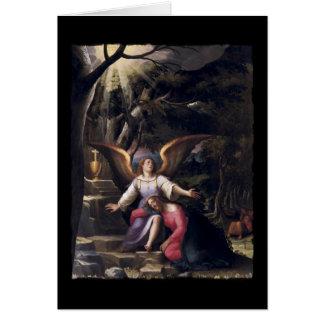 Agonía en el jardín de Gethsemane Tarjeta De Felicitación