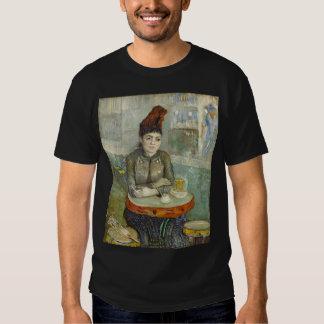 Agostina Segatori en Cafe du Tambourin de Van Gogh Camisas