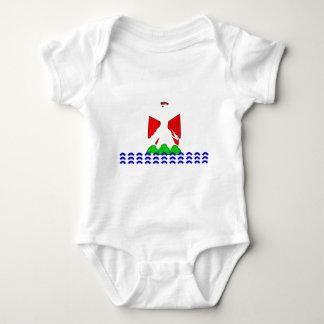 Agradable-Bandera Body Para Bebé