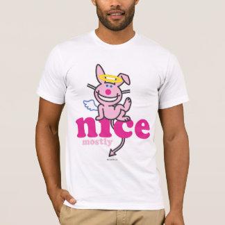 Agradable sobre todo camiseta