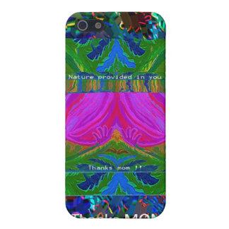 Agradece a la MAMÁ - el regalo que usted consigue iPhone 5 Carcasa