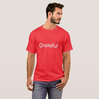 """""""Agradecido"""" inspirado por NFL anterior Mikhael Camiseta"""