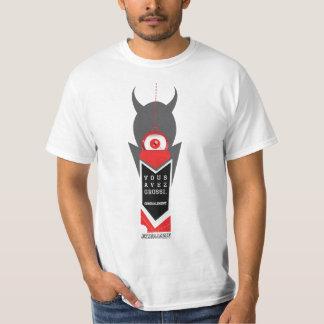 Agrandó, cordialmente camiseta