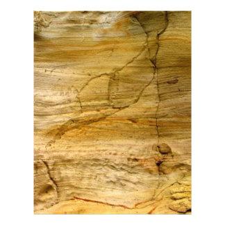 Agrietado de piedra folleto 21,6 x 28 cm