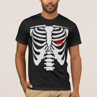 Agriete mis costillas (los muchachos) camiseta