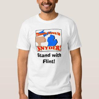 Agua del pedernal - Rick Snyder \ Camisetas