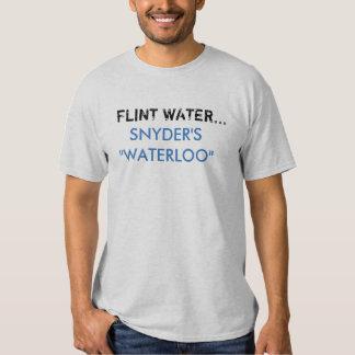 Agua del pedernal - Snyder Camisetas