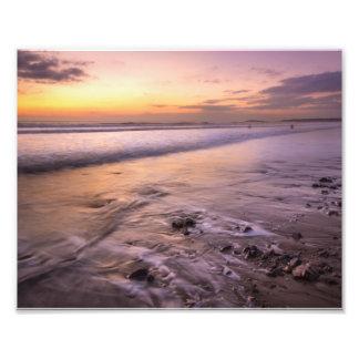 agua en la arena fotografías
