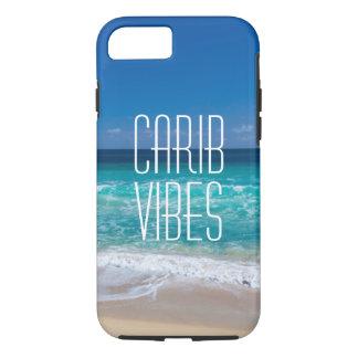 Agua tropical de la turquesa de la playa de la funda iPhone 7